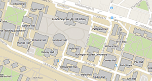 NC State campus map thumbnail